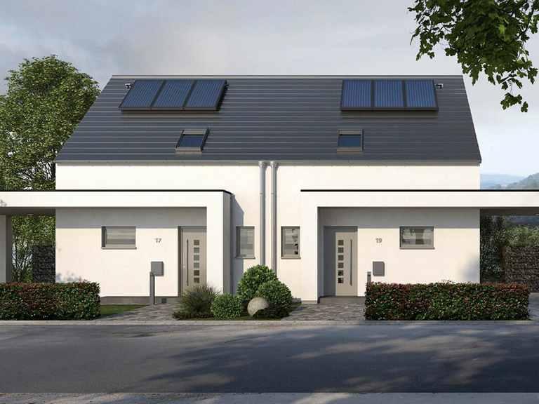 Doppelhaus Double 10 - allkauf haus