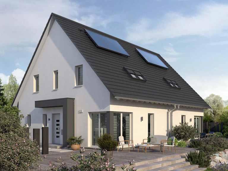 Doppelhaus Double 4 - allkauf haus