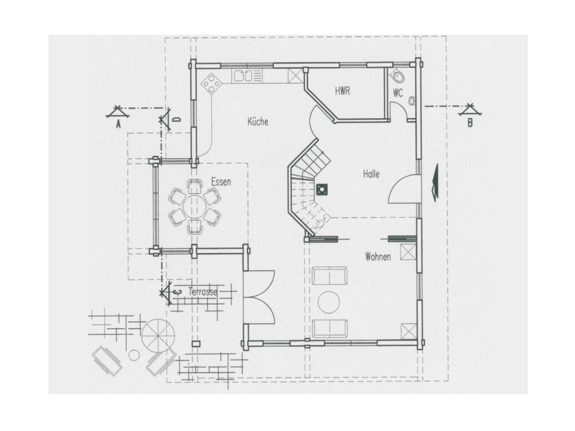 Holzhaus Hohenlohe - Fullwood Wohnblockhaus | Musterhaus.net