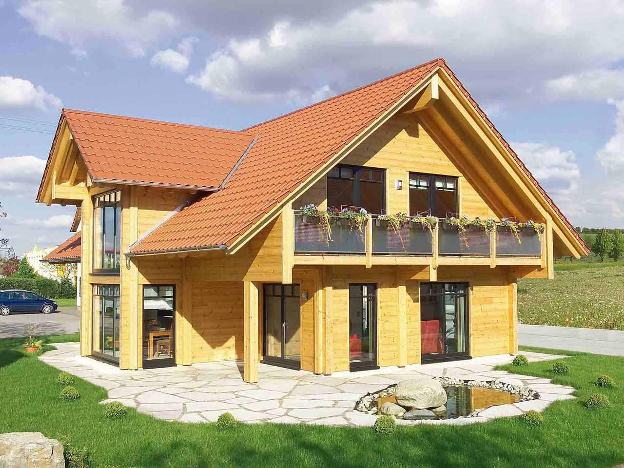 Musterhaus Hohenlohe - Fullwood Wohnblockhaus