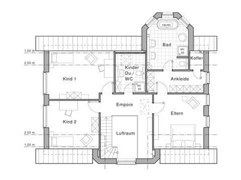 Haus Edition 455 Grundriss DG von Viebrockhaus