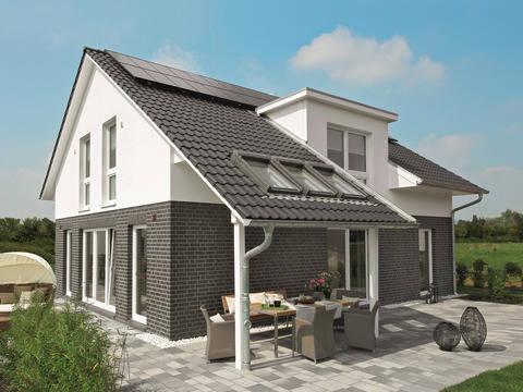 bauherrenreportage landhaus mit liebe zum detail. Black Bedroom Furniture Sets. Home Design Ideas
