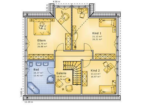 Grundriss Dachgeschoss Apart