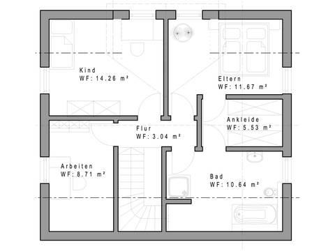 Haustyp 117 Grundriss Erdgeschoss