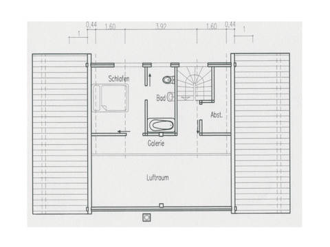 Grundriss Obergeschoss Haus Singleglück von Fullwood Wohnblockhaus