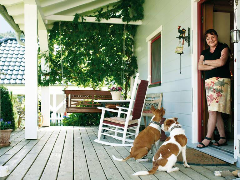 Veranda Haus Singleglück von Fullwood Wohnblockhaus