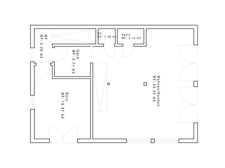 Haustyp PD170 Grundriss EG