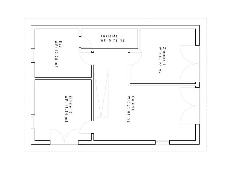 Haustyp PD170 Grundriss OG