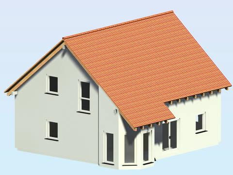 3-D-Ansicht auf den Haustyp SD127