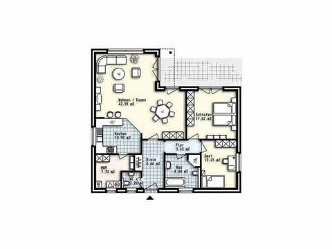 Bungalow Usedom - OLFA-Haus GmbH Grundriss EG