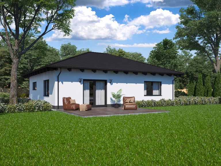 Bungalow BS 80 - B&S Selbstbausysteme