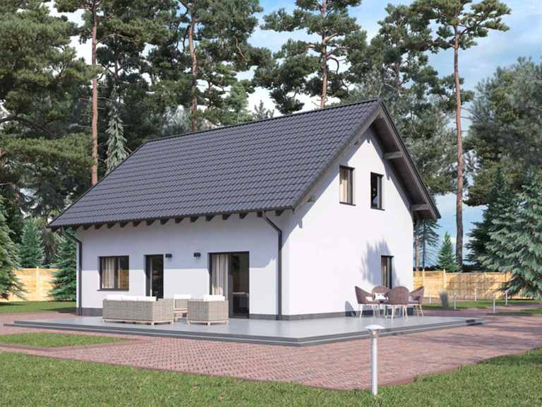 Einfamilienhaus BS 107 - B&S Selbstbausysteme