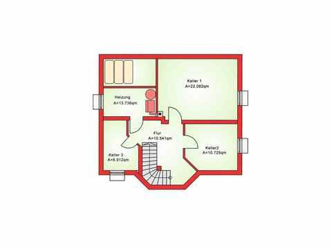 Einfamilienhaus BS 112 - B&S Selbstbausysteme Grundriss KG