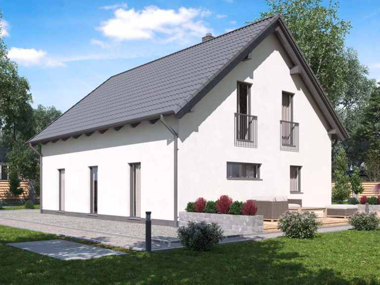 Einfamilienhaus BS 125 - B&S Selbstbausysteme