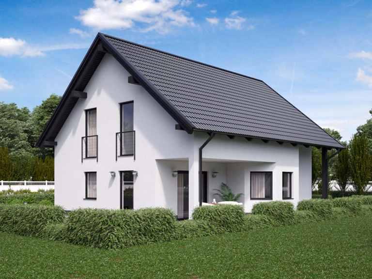 Einfamilienhaus BS 129 - B&S Selbstbausysteme