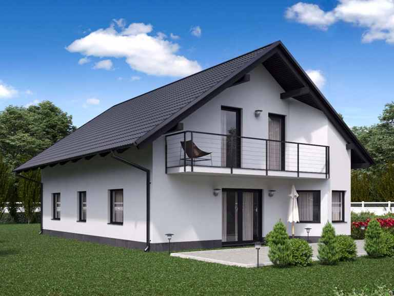 Einfamilienhaus BS 134 - B&S Selbstbausysteme