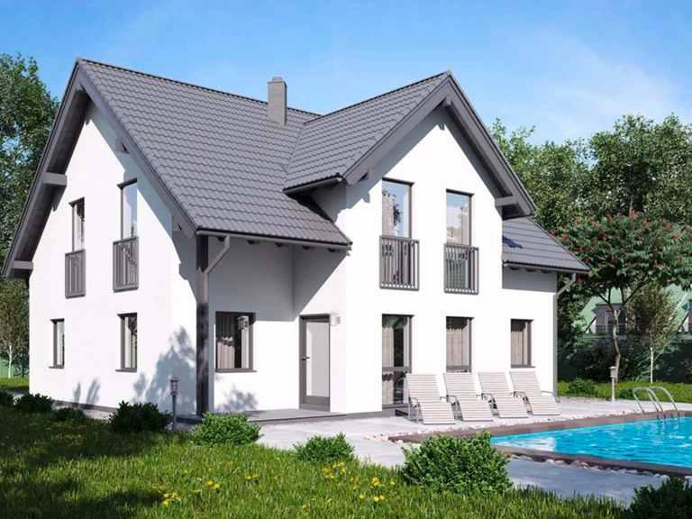 Einfamilienhaus BS 142 - B&S Selbstbausysteme