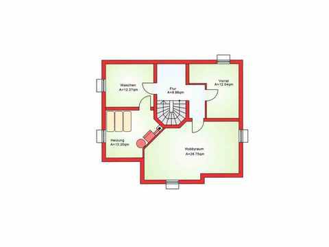 Einfamilienhaus BS 142 - B&S Selbstbausysteme Grundriss KG