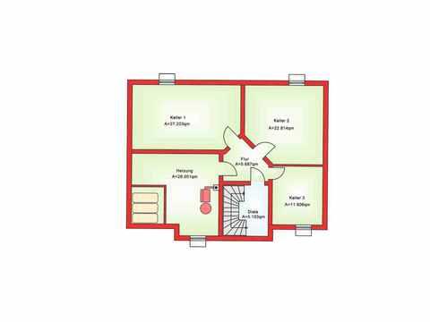 Zweifamilienhaus BS 181 - B&S Selbstbausysteme Grundriss KG