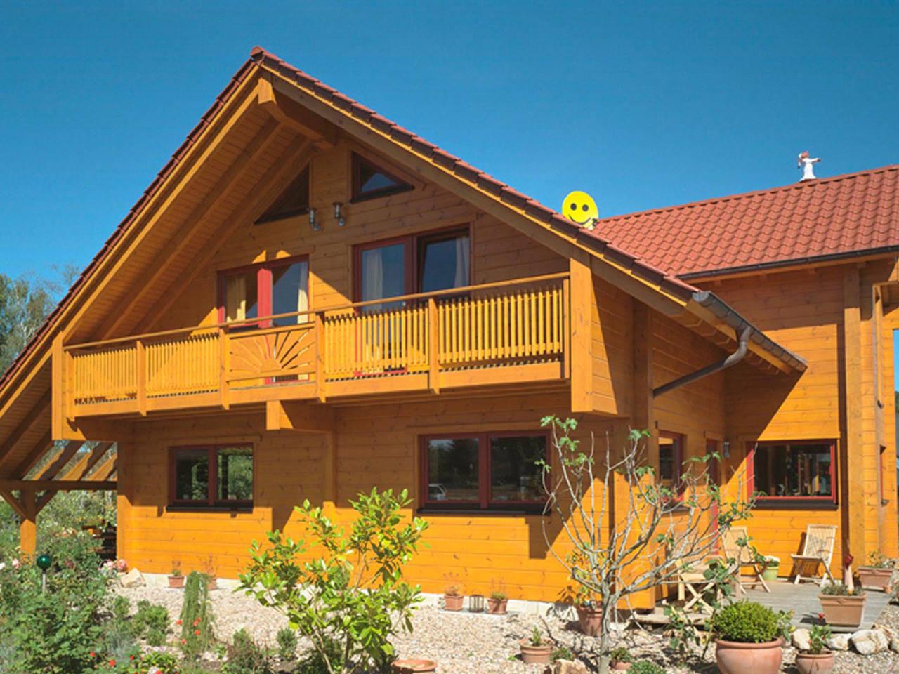 Holzhaus Familienglück von Fullwood Wohnblockhaus