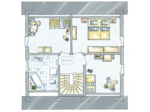 allkauf Einfamilienhaus Life 5 Grundriss Dachgeschoss