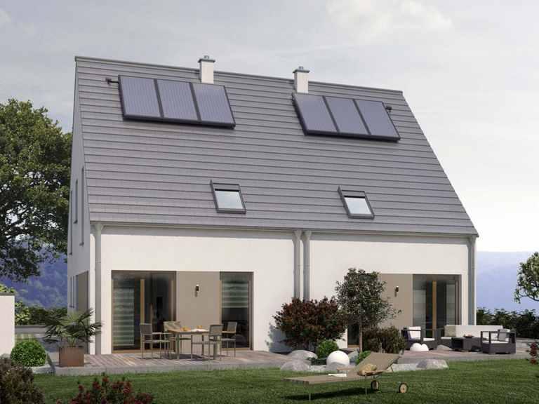Doppelhaus Double 2 - allkauf haus