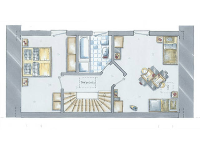 allkauf Doppelhaus Double 2 GrundrissDachgeschoss