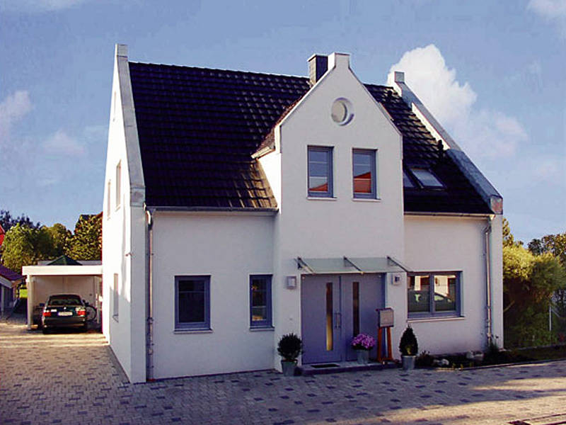 Stadthaus-S130 NURDA-Hausbau