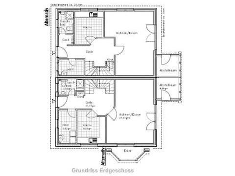 Doppelhaus DH 120/30 Erdgeschoss