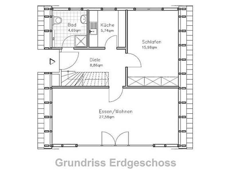 Charmant nurdachhaus fertig galerie wandrahmen die for Nurdachhaus bauen
