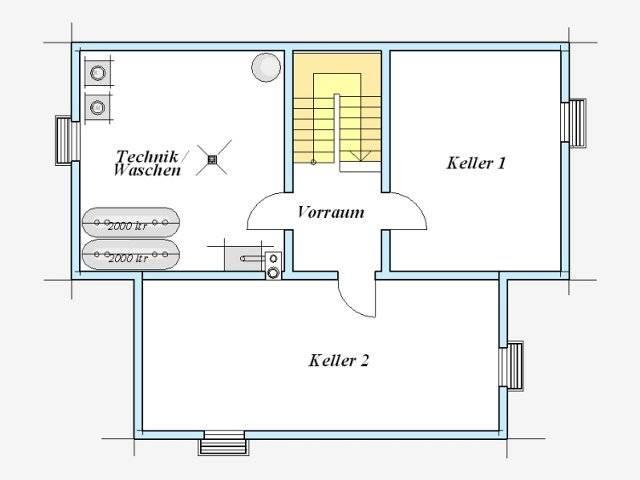 Trendhaus Ökovital 39 Grundriss Keller