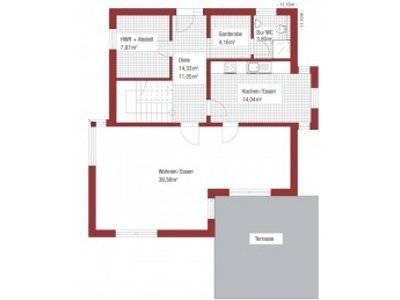 Stadthaus Campus Grundriss Erdgeschoss