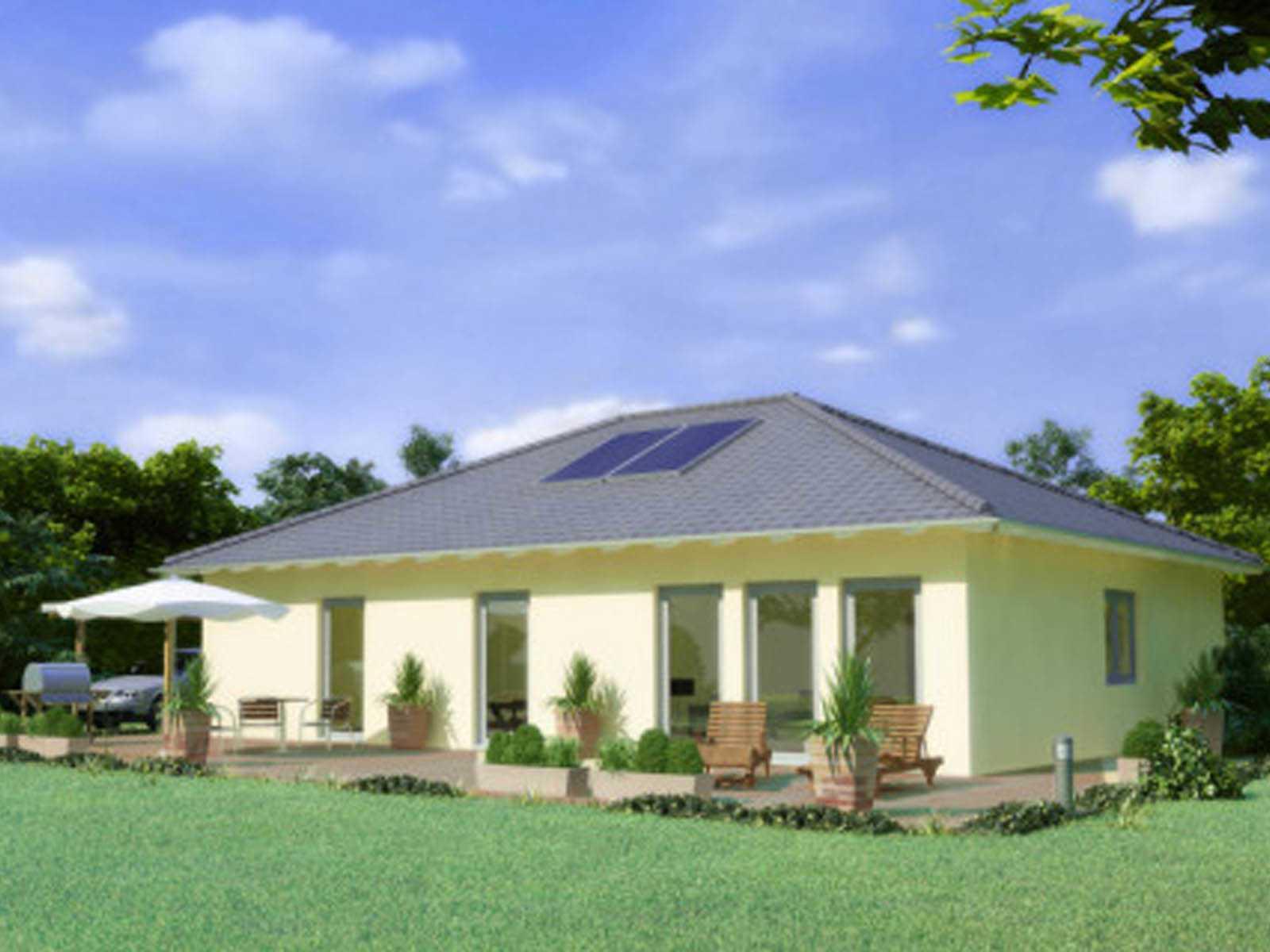 Haus chalet 103 favorit massivhaus for Chalet haus bauen