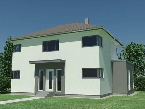 Einfamilienhaus Stimmo City 137 Hausansicht 1