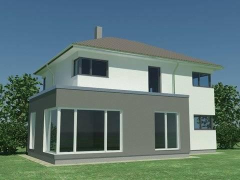 Einfamilienhaus Stimmo City 137 Hausansicht 2