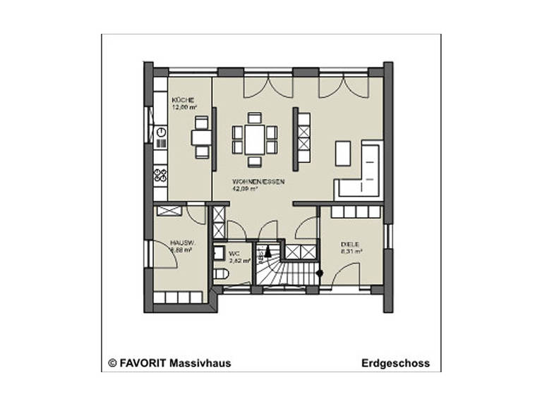 conceptDESIGN 148 Grundriss Erdgeschoss