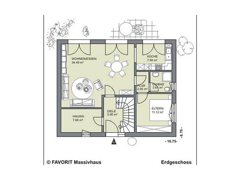 Citylife 143 Grundriss Erdgeschoss