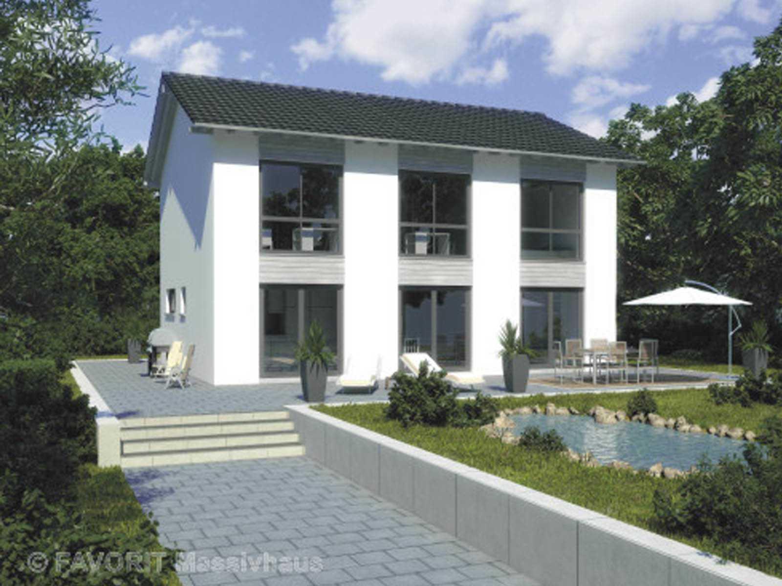 Favorit Massivhaus citylife 143 favorit massivhaus