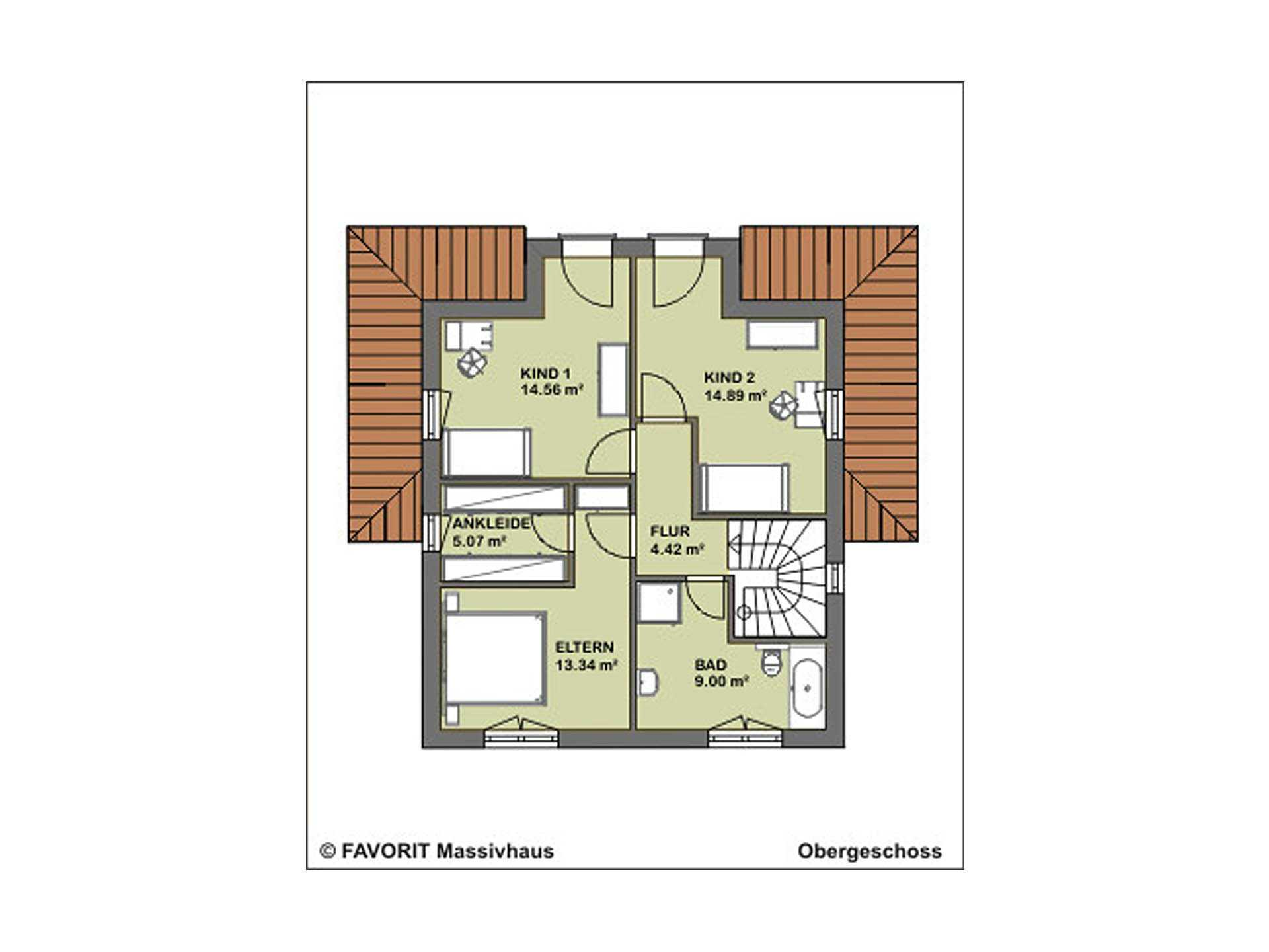 Ambiente 136 Grundriss Erdgeschoss
