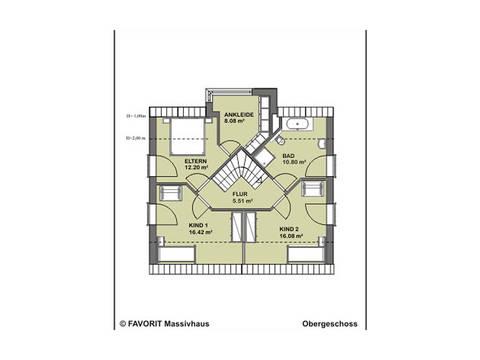 Select Design 143 Grundriss Dachgeschoss