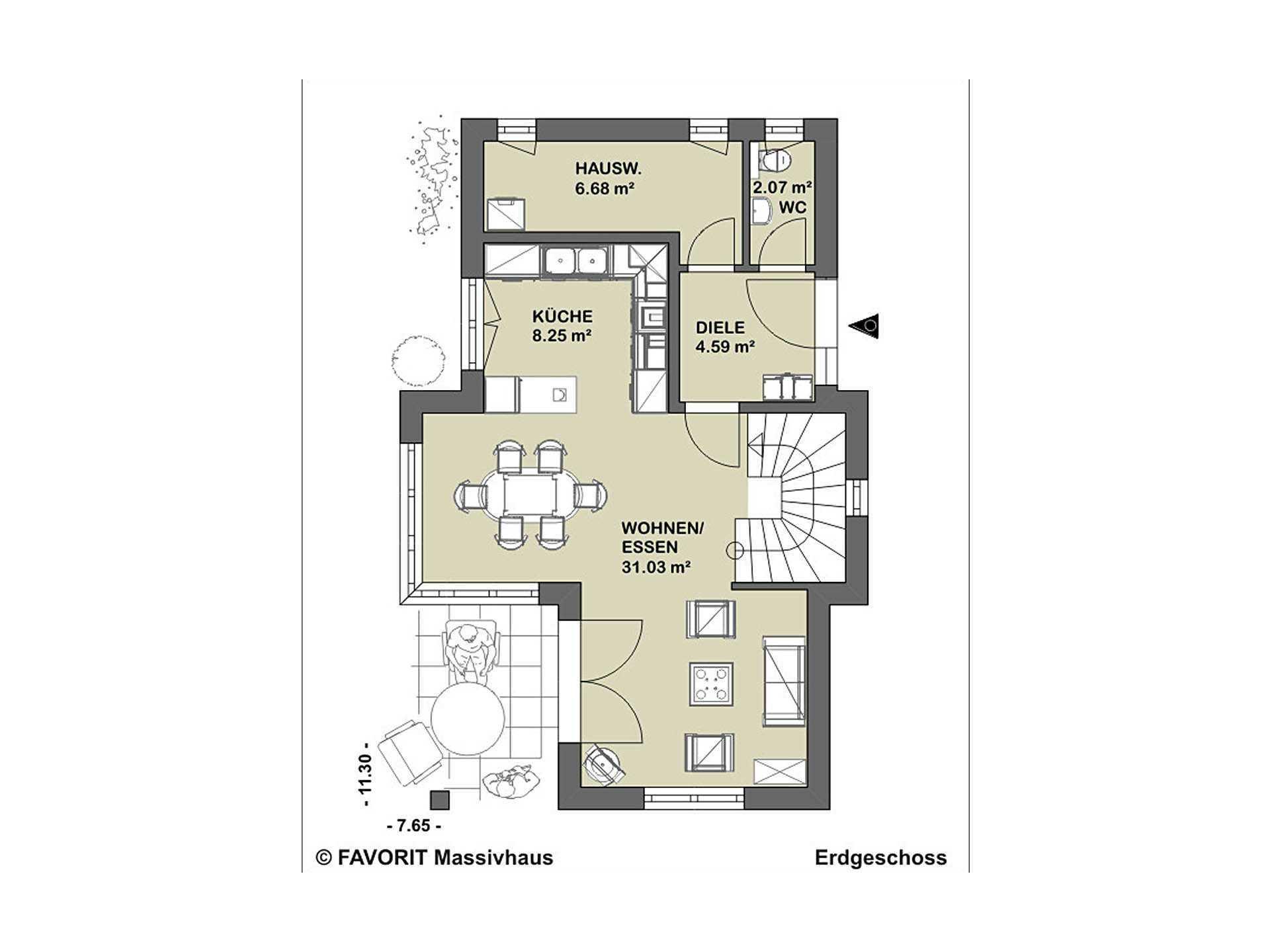 conceptDESIGN 2.01 Grundriss Dachgeschoss