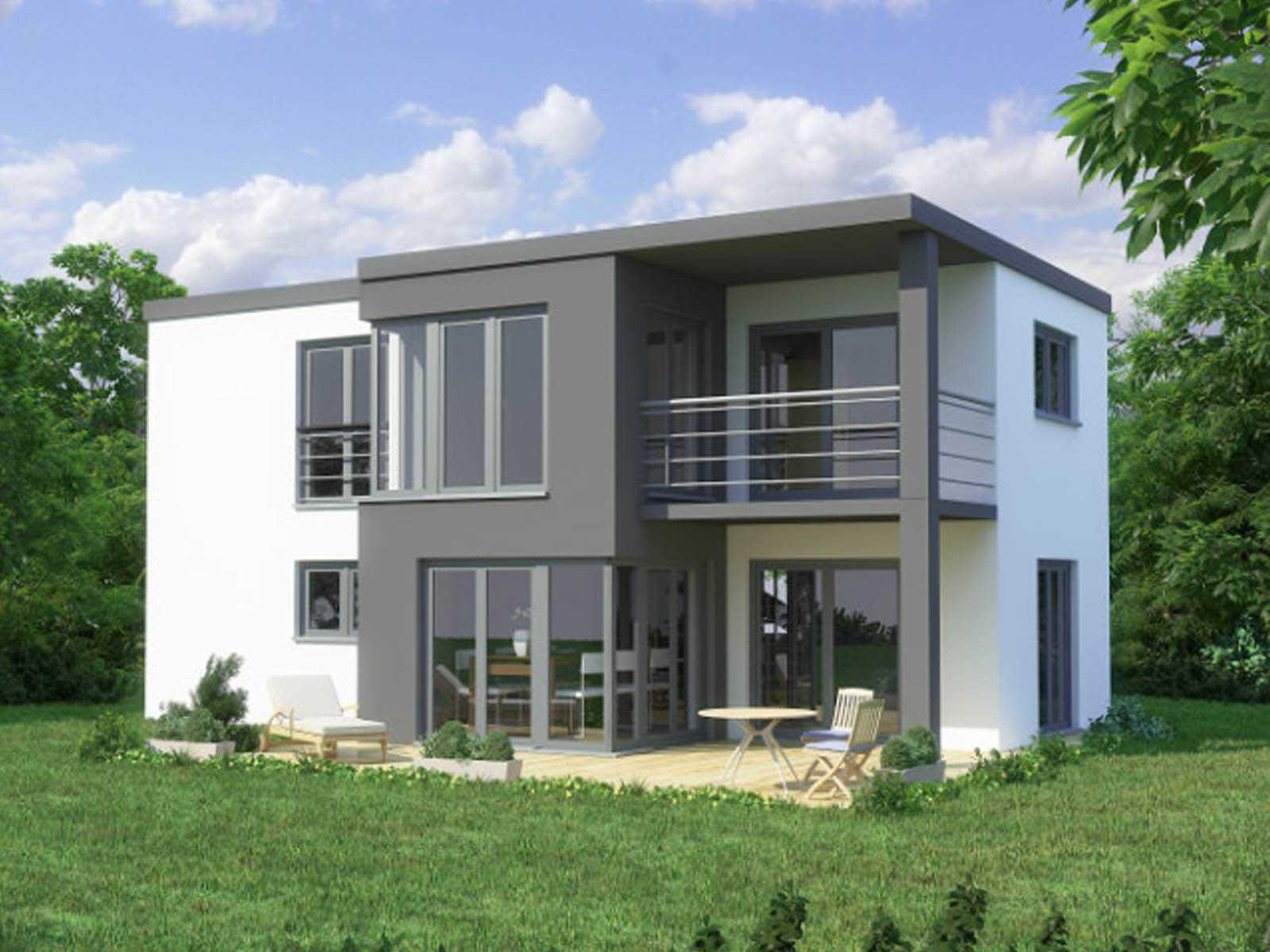Conceptdesign favorit massivhaus for Massivhaus modern