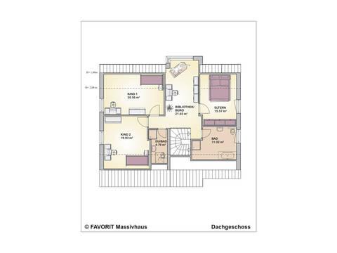 Premium Design 152/59 Grundriss Erdgeschoss