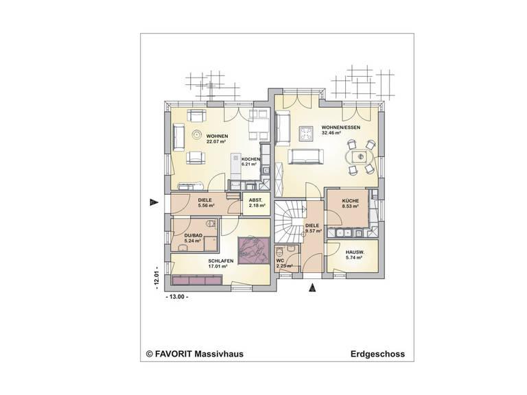 Premium Design 152/59 Grundriss Dachgeschoss