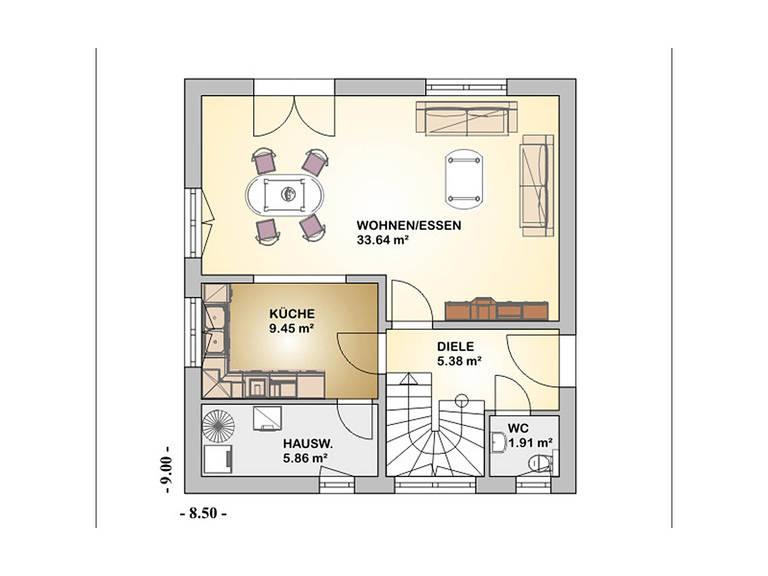 conceptDESIGN 2.0 Grundriss Dachgeschoss