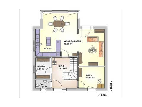 Select Edition 153 Grundriss Erdgeschoss