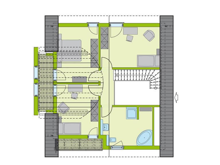 Haus LifeStyle 26 Dachgeschoss