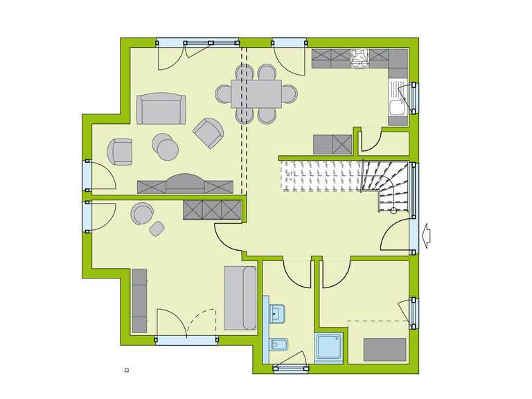 Haus LifeStyle 26 Erdgeschoss