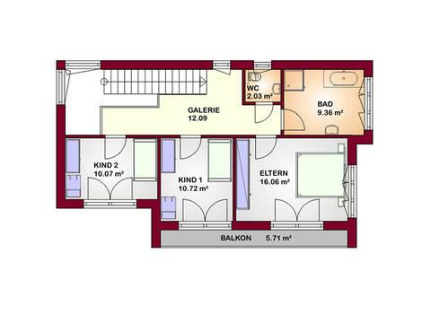 Concept 130 Grundriss Dachgeschoss