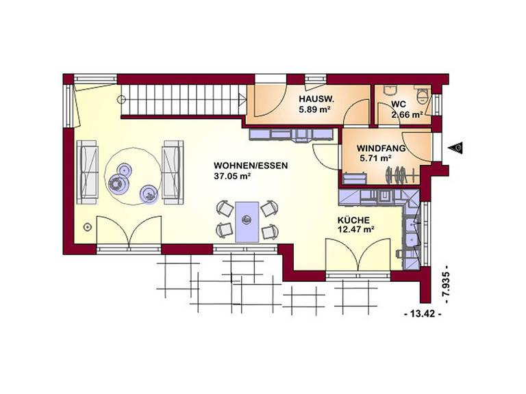 Concept 130 Grundriss Erdgeschoss